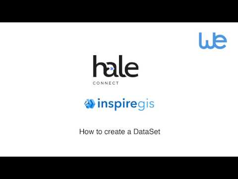 How to create a Dataset with Hale Connect