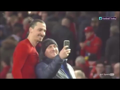 Zlatan Ibrahimovic  - A Great Person