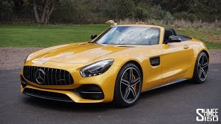 Is the Mercedes-AMG GT C Roadster a Roof Down Dream?