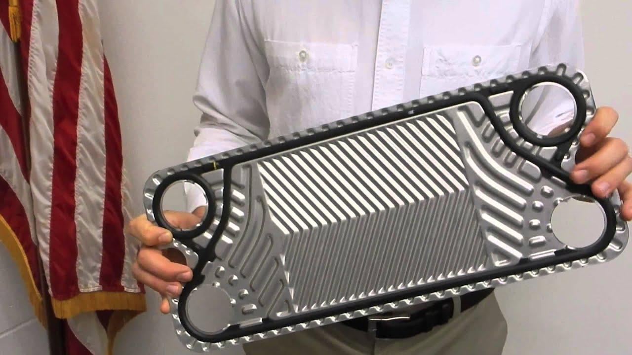 Plate Type Heat Exchangers - YouTube