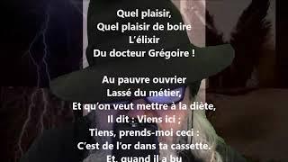 Le docteur Grégoire - Gustave Nadaud lu par Yvon Jean