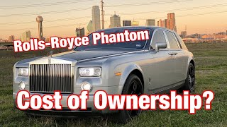 Rolls-Royce Phantom cost of ownership, can you daily drive it?