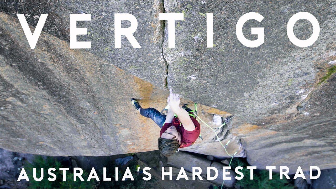 Vértigo (32/8b+) la ruta más difícil de Australia