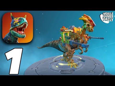 Dino Squad: Online Action - Gameplay Part 1 (iOS Android)