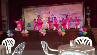 Vietnamese performance-International Art and Culture festival at STUST