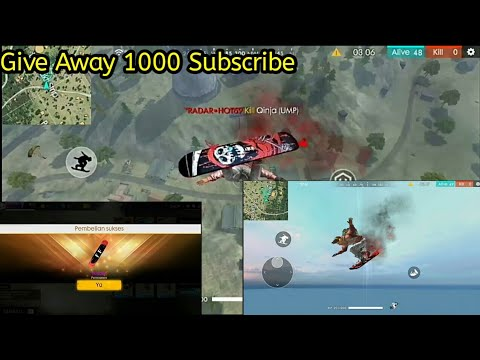 Review Surfboard Reaper || Free Fire Indonesia