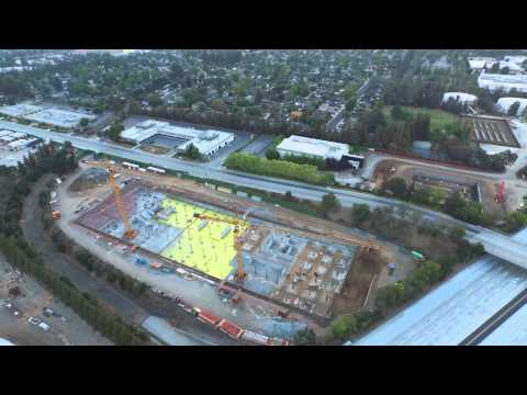 Raw: Apple Campus 2 Construction Update -- August 1, 2015