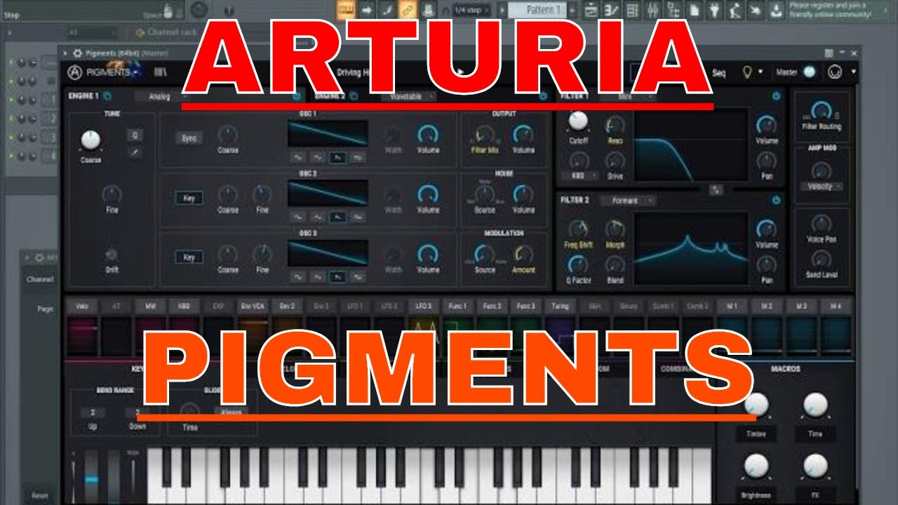 arturia pigments youtube