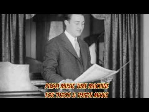 1920s Music Singing Sensation - Franklyn Baur - At Sundown @Pax41