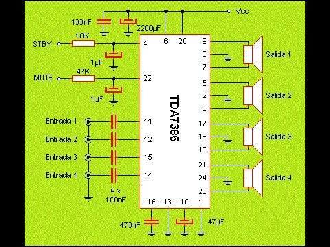 circuit diagram simple amplificador de 4 v as 30 wats simple y f cil de armar #8