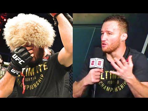 Хабиб Гэтжи после боя! Реакция Конора Даны Джонса и бойцов UFC