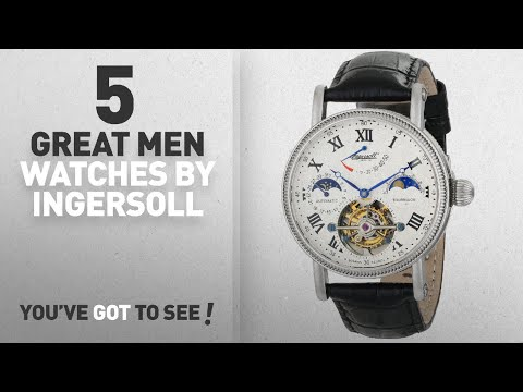 Top 10 Ingersoll Men Watches [ Winter 2018 ]: Ingersoll Men's IN5101WH Sonoma Tourbillon Stainless