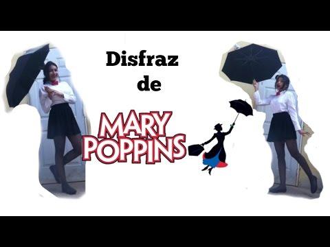 Halloween: Disfraz de Mary Poppins