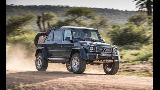 Top Acceleration 2018 Mercedes Maybach G650 Landaulet Performance