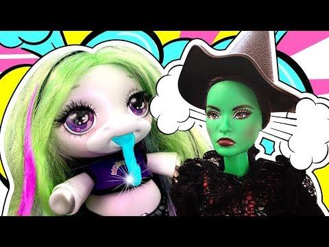 Амелькины Игрушки в СЛАЙМЕ! Злая Ведьма заколдовала Кена! Как вернуть Слаймы! История Куклы Барби!