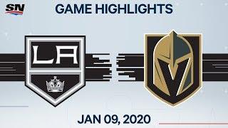 NHL Highlights   Kings vs Golden Knights - Jan. 9, 2020