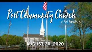 Port Community Church 08 30 20