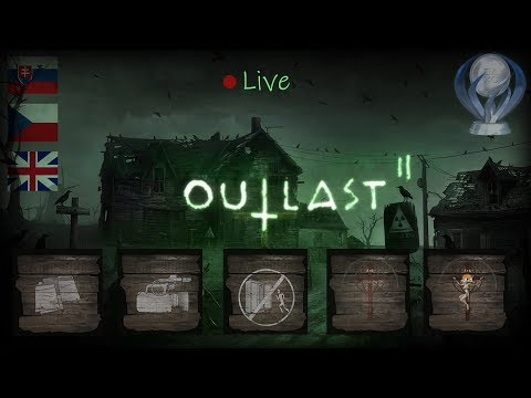OUTLAST 2 #2 [100% Trophies Nightmare + Collectibles Playthrough] | SK\CZ\EN LIVEstream