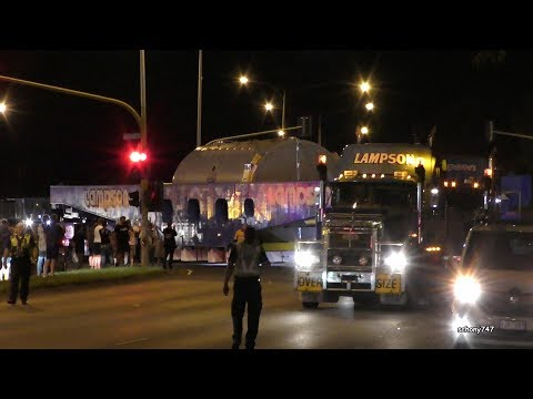 The VicRoads Superload - Heavy Haulage Trucks Frenzy hits Victoria Australia