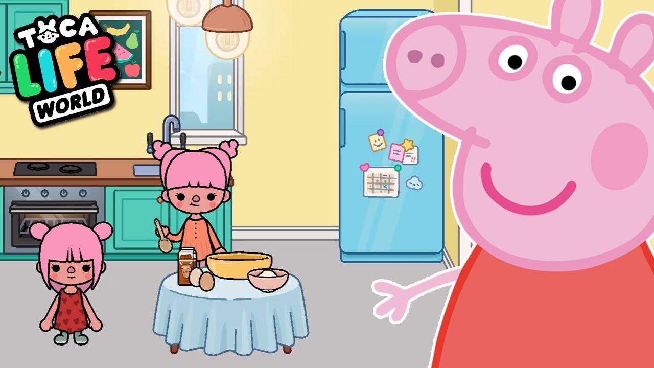 PEPPA PIG no TOCA LIFE WORLD ‹ Luli Rarity ›