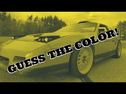 WHAT COLOR IS THE FIERO! READY TO BE DISAPPOINTED