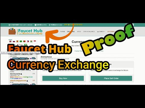 Currency Exchange from faucethub io, Instantly Exchange (live Proof)