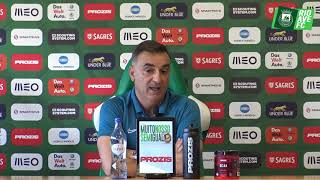 Antevisão: Carlos Carvalhal (Portimonense vs Rio Ave FC)