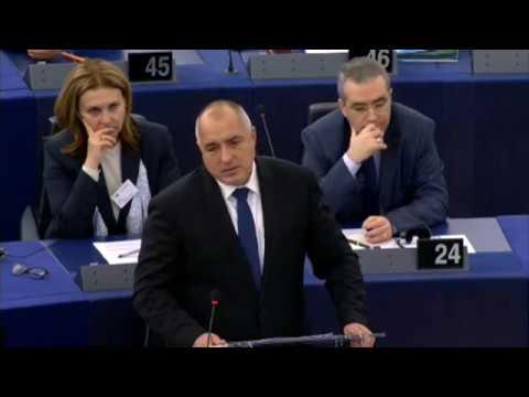 Boyko Borissov на #EPlenary BG