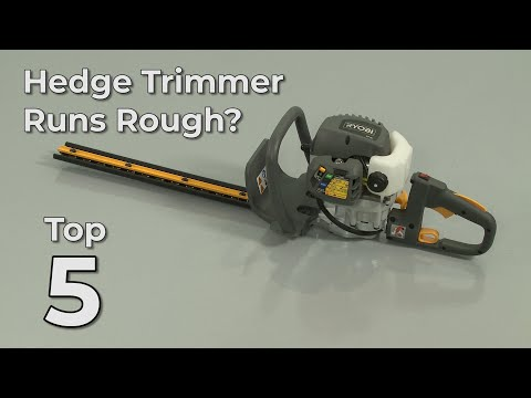 "Thumbnail for video ""Hedge Trimmer Runs Rough? Hedge Trimmer Troubleshooting"""