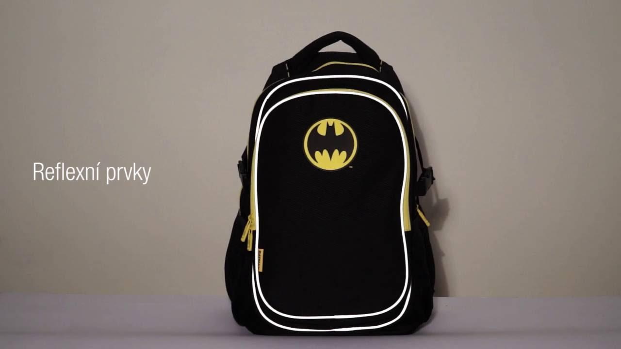 Školní batoh Batman – ORIGINAL - YouTube 5a9ece5049