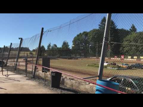 7-29-17 River City Speedway 4-cylinder heat race 1