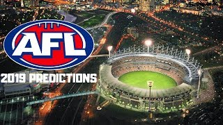 Trying out the AFL Ladder Predictor