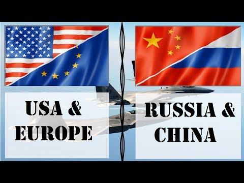 AS & Eropa VS Rusia & Cina - ⚔️Perbandingan Militer⚔️