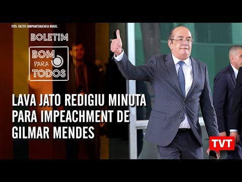 🔴 Temer admite golpe – Lava Jato redigiu minuta para impeachment de Gilmar Mendes –Boletim 17.09.19