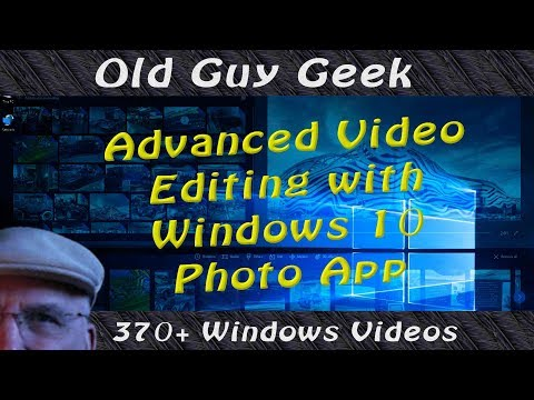 Create Advanced Videos in Photos App for Windows 10