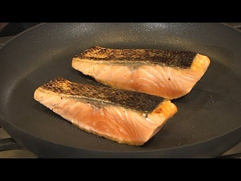 Homegrown   How to Cook Seared Salmon