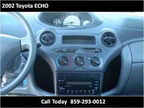 2002 toyota echo used cars lexington ky youtube. Black Bedroom Furniture Sets. Home Design Ideas