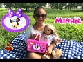 Picnic Day with American Girl Doll and Minnie Bowtastic Shopping Basket Set