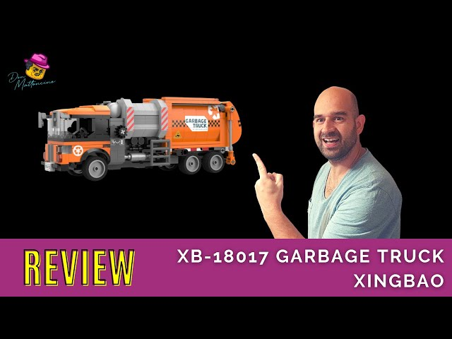 Ein Müllwagen von Xingbao! Ist das für die Müllabführ? Xingbaos XB-18017 Garbage Truck im Review
