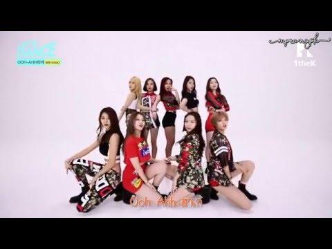 [Karaoke/Thai] TWICE - Like OHH AHH Choreography Ver.Mirrored