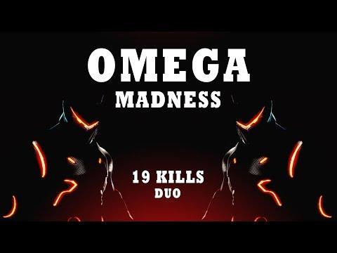 OMEGA MADNESS!   19 Kills Duo Ft. Djorro97   (Fortnite Battle Royale)