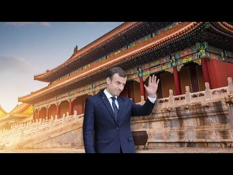 French President Macron visits China