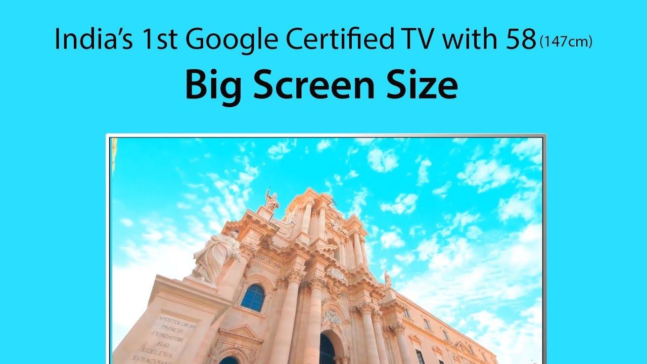 Onida Google Certified 147 32cm (58 inch) Ultra HD (4K) LED Smart Android TV