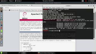 How to open localhost in Kali Linux