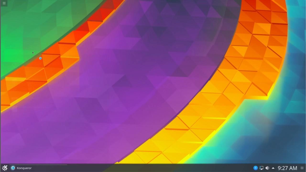 Installation & First Look at Debian 9 Stable KDE Plasma Desktop