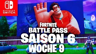 🔴 BATTLE PASS STERN - Défis de la semaine 9 Fortnite Nintendo Switch (en)