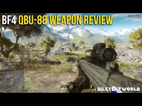 Download Battlefield 4 (PS3) - QBU-88 Weapon Review - Worth Using? (BF4 Gameplay)