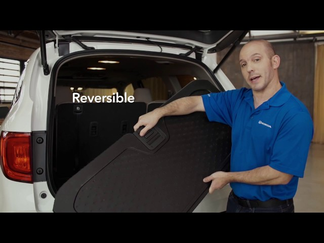 2017 Honda Pilot Tips & Tricks: Reversible Trunk
