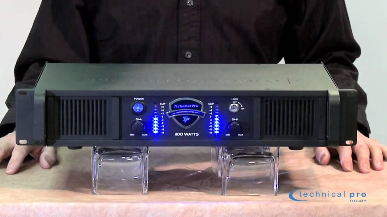Bridge Wiring Diagram Technical Pro 1100w Pro Amp Youtube