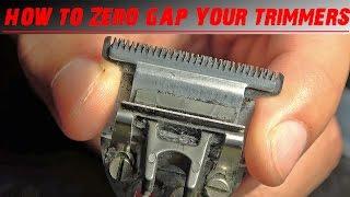 TUTORIAL: HOW TO ZERO GAP TRIMMERS